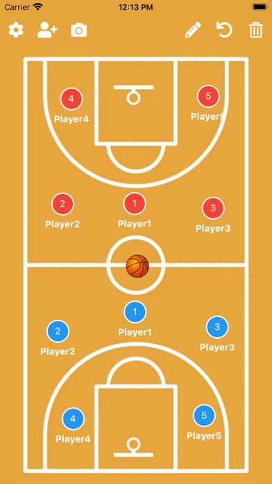 バスケットボール作戦ボード紹介画像1