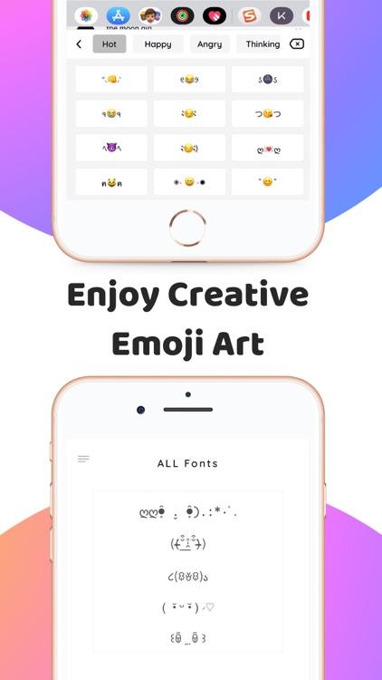 SNS Fonts & Keyboard for Text screenshot-4