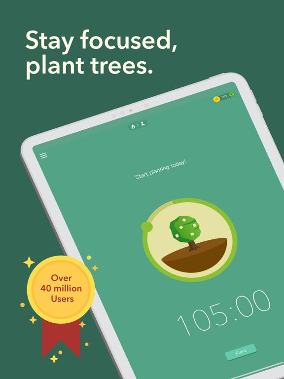 Forest - Your Focus Motivation iPad app afbeelding 1