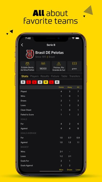 Live Score Football Scores screenshot-6