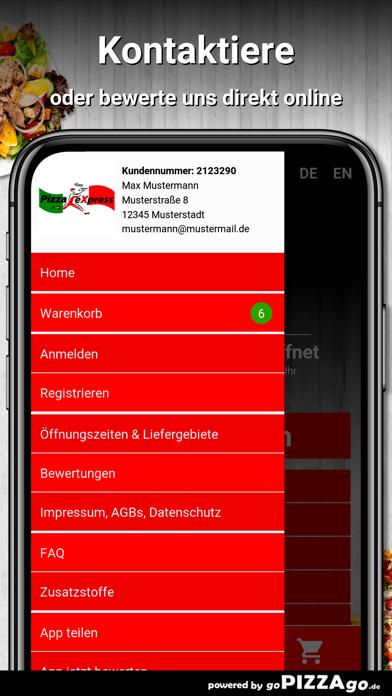 Pizza Express Büdingen screenshot 3