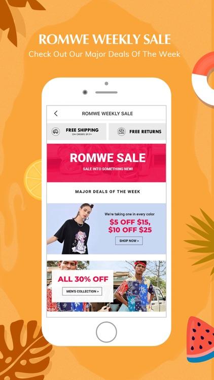 ROMWE -Online Fashion Store screenshot-6