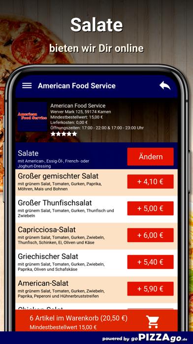 American Food Service Kamen screenshot 5