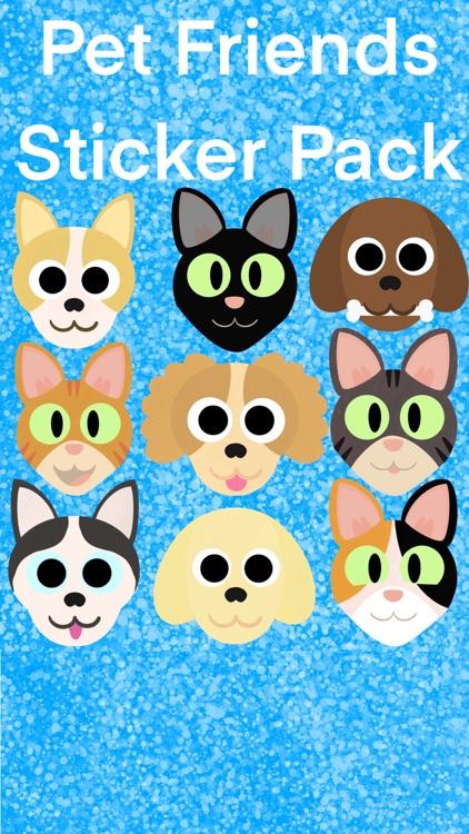 Pet Friends Sticker Pack