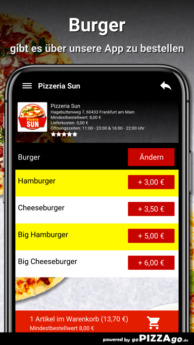 Pizzeria Sun Frankfurt am Main screenshot 6