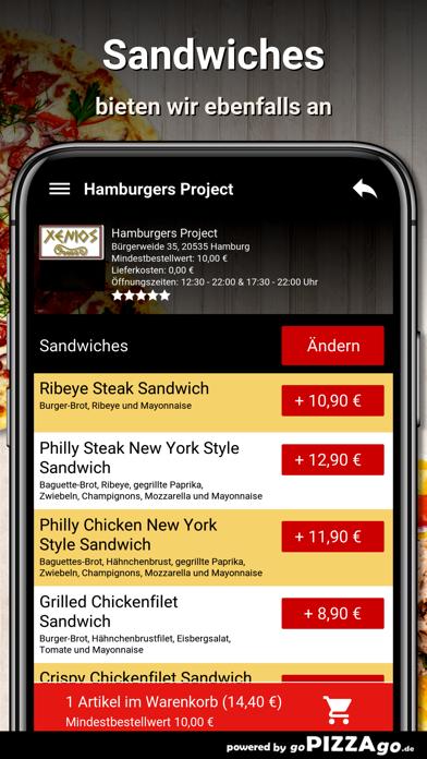 Hamburgers Project Hamburg screenshot 6
