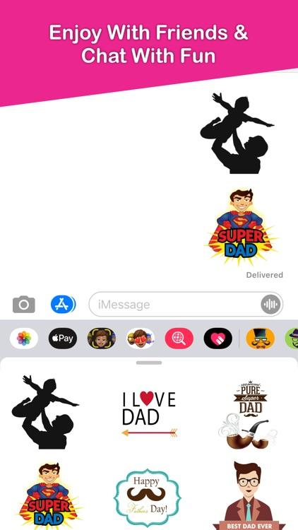 Fathers Day Emojis screenshot-3