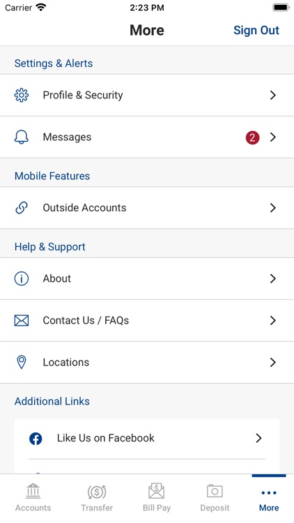 Resource Bank Mobile screenshot-3