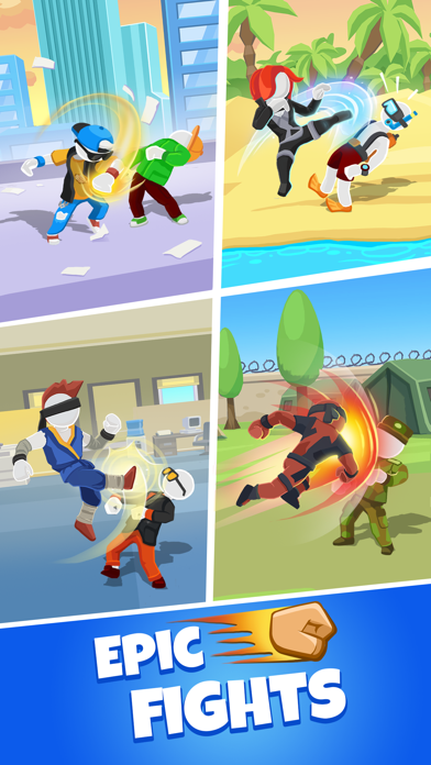 Match Hit - Puzzle Fighter screenshot 2