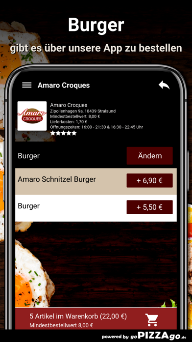 Amaro Croques Stralsund screenshot 6