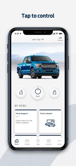 FordPass app screenshot