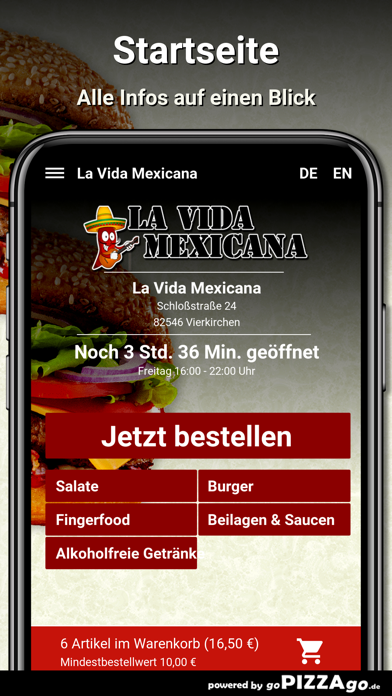 La Vida Mexicana Vierkirchen screenshot 3