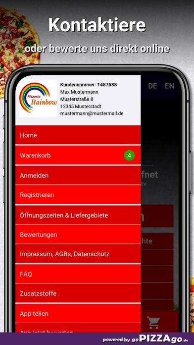 Pizzeria Rainbow Stockstadt screenshot 3