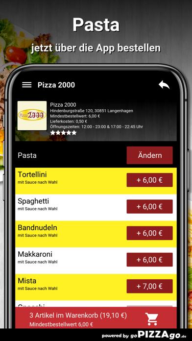 Pizza 2000 Langenhagen screenshot 6