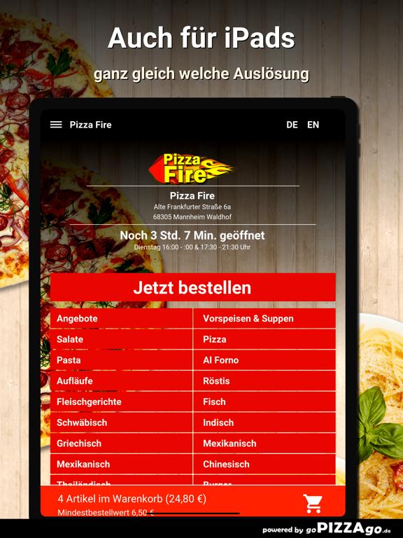 Pizza Fire Mannheim Waldhof screenshot 8