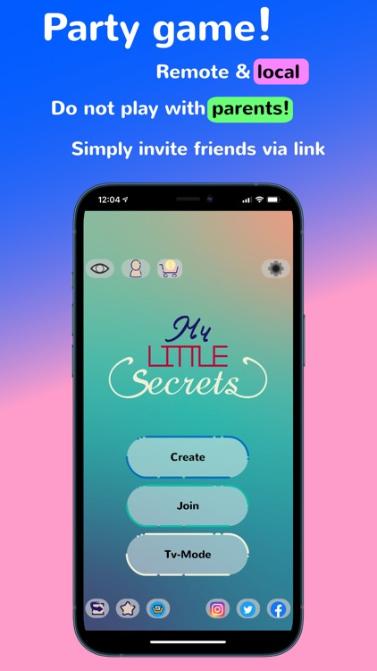 My Little Secrets - Partygame