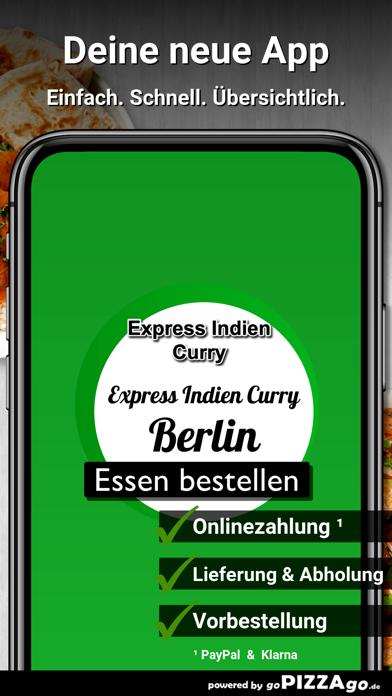 Express Indien Curry Berlin screenshot 1