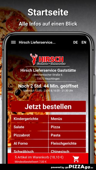 Hirsch Heuchlingen screenshot 2