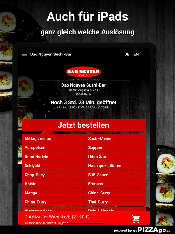 Dao Nguyen Sushi-Bar Berlin screenshot 7