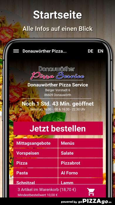 Donauwörther Pizza Donauwörth screenshot 2