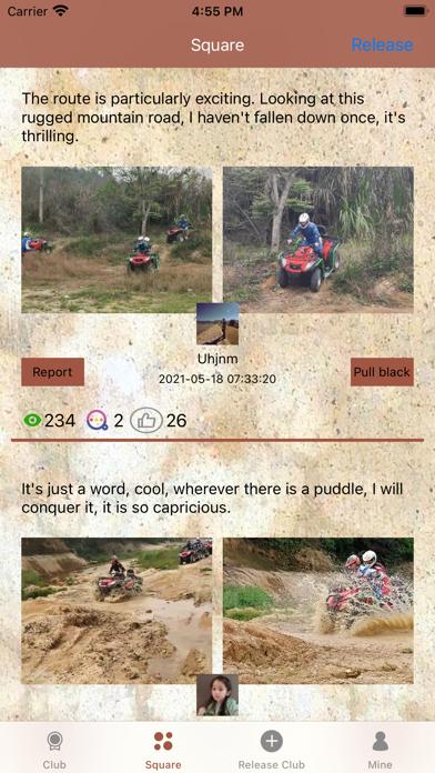 ATV Off Road Club screenshot 2