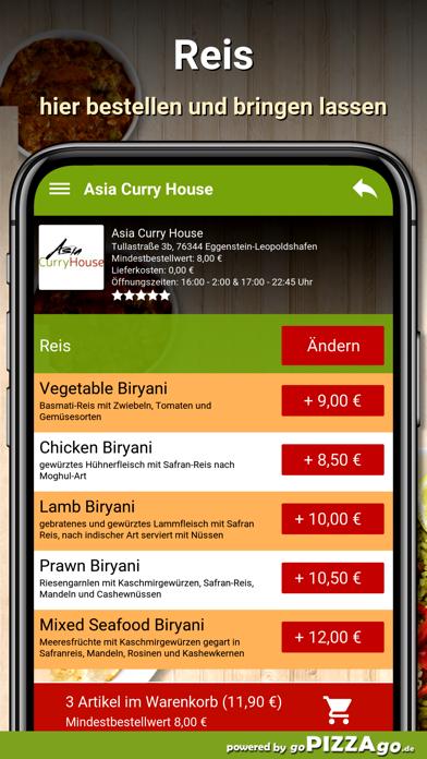 Asia Curry House Eggenstein screenshot 1