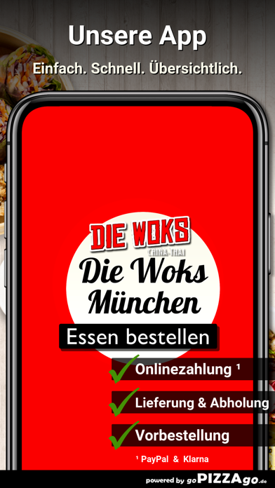 Die-Woks China-Thai München screenshot 1