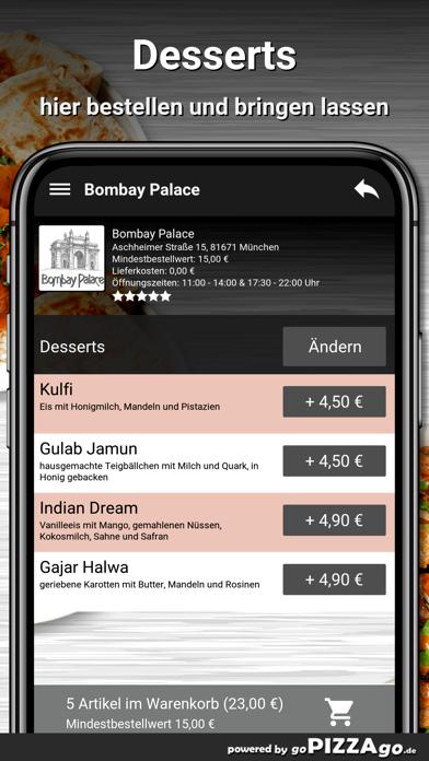 Bombay Palace München screenshot 6