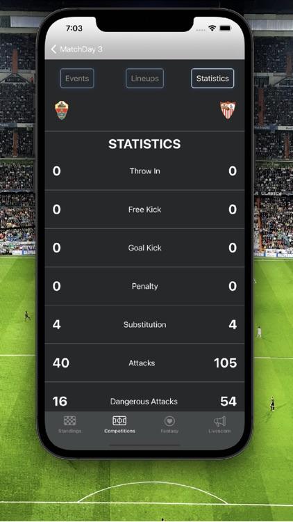 La Liga Football Scores screenshot-6
