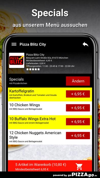 Pizza Blitz City München screenshot 5