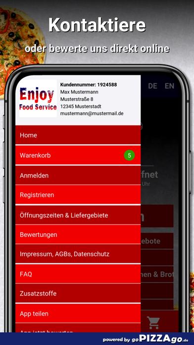 Enjoy Food Service Borna screenshot 3