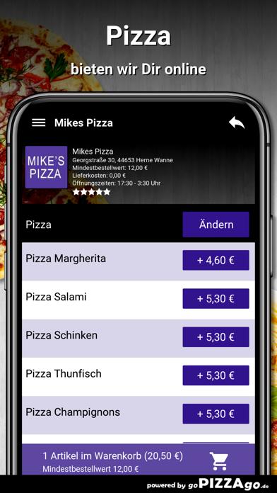 Mikes Pizza Herne Wanne screenshot 5