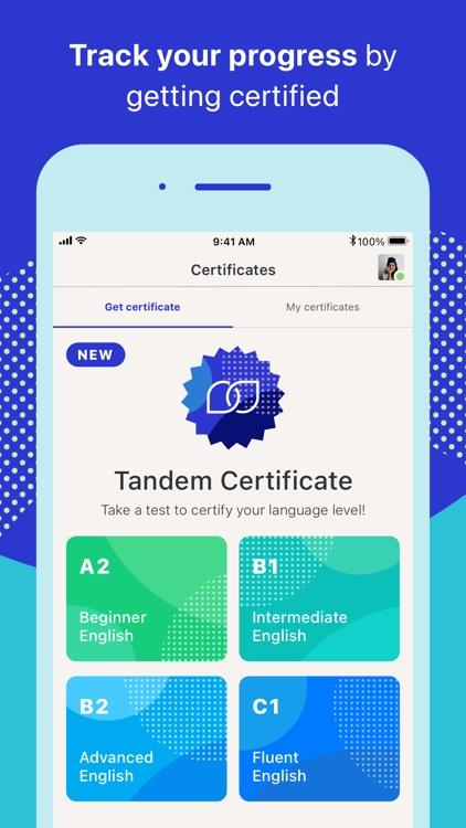 Tandem - Learn new languages screenshot-8