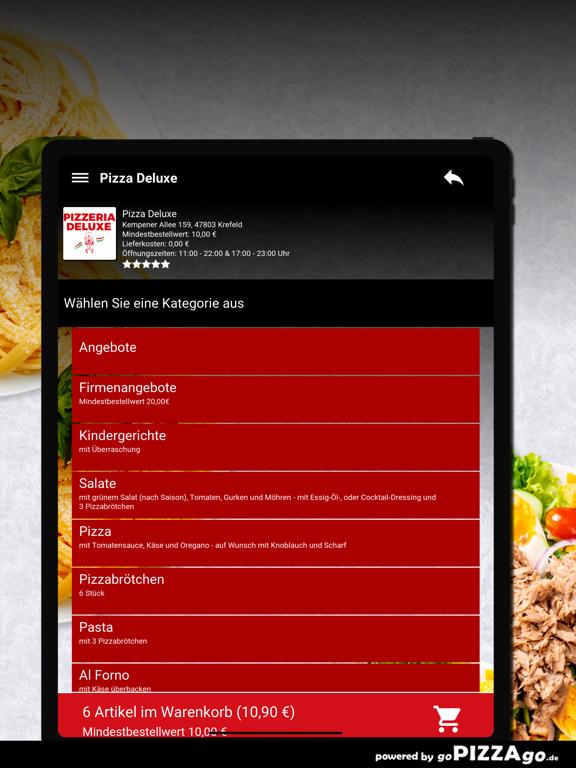 Pizza Deluxe Krefeld screenshot 8