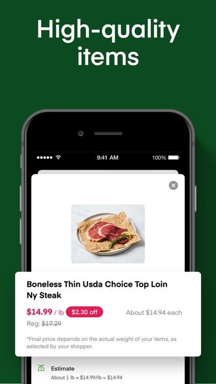 Instacart: Grocery deliveries screenshot-4