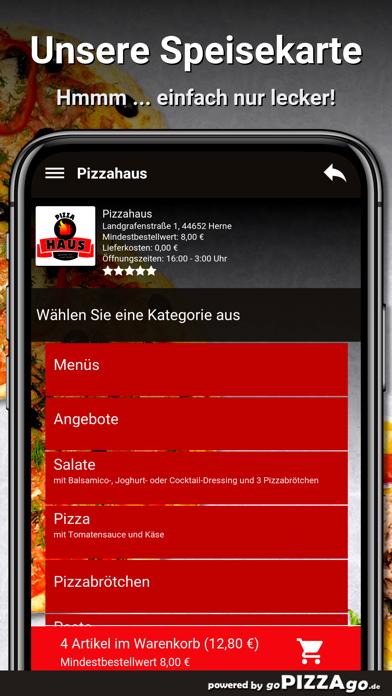Pizzahaus Herne screenshot 4