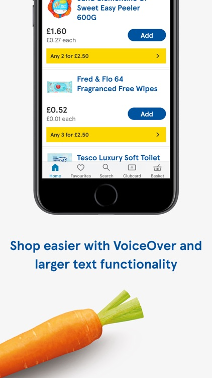 Tesco Grocery & Clubcard screenshot-4