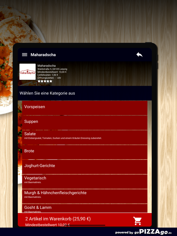 Maharadscha Leipzig screenshot 8