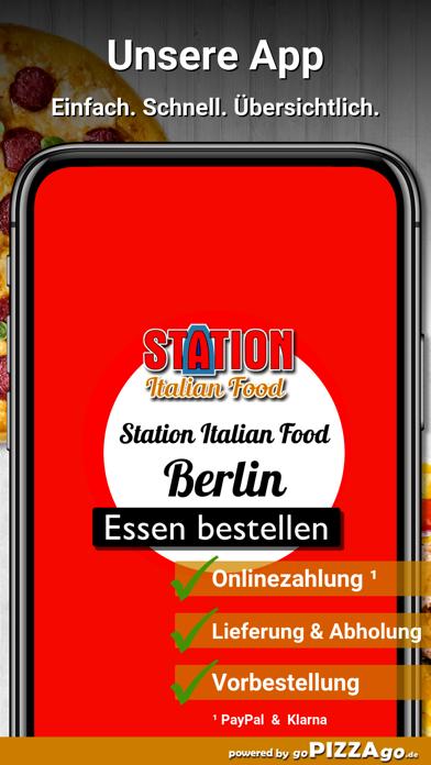 Station Italian Food Berlin screenshot 1