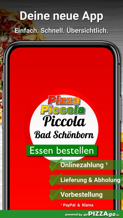 Pizza Piccola Bad Schönborn screenshot 1