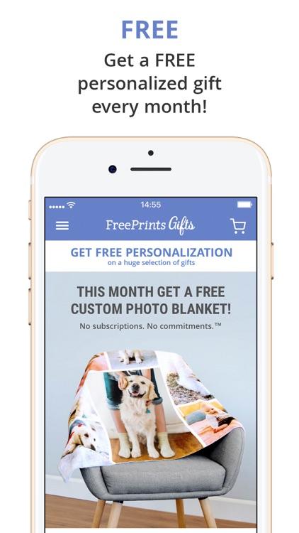 FreePrints Gifts – Fast & Easy screenshot-0