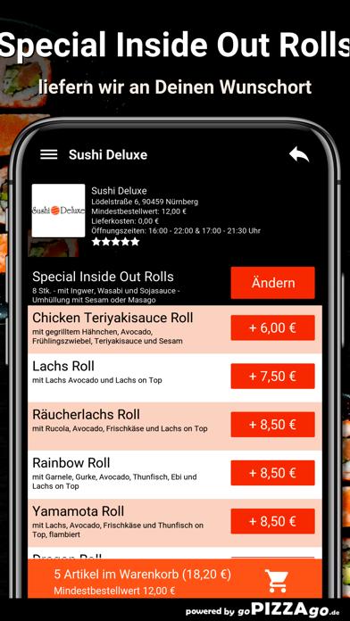 Sushi Deluxe Nürnberg screenshot 6