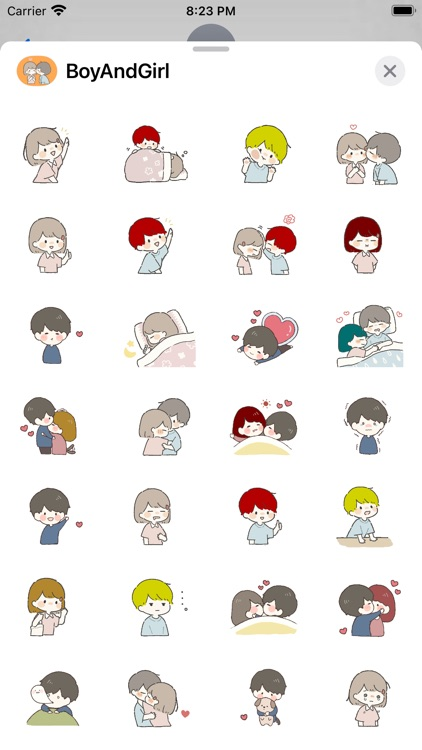 Boy and Girl Stickers