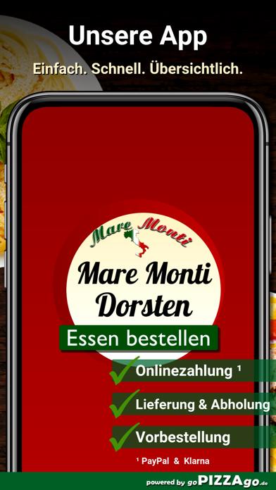 Pizzeria Mare Monti Dorsten screenshot 1