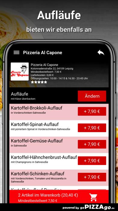 Pizzeria Al Capone Leipzig screenshot 6