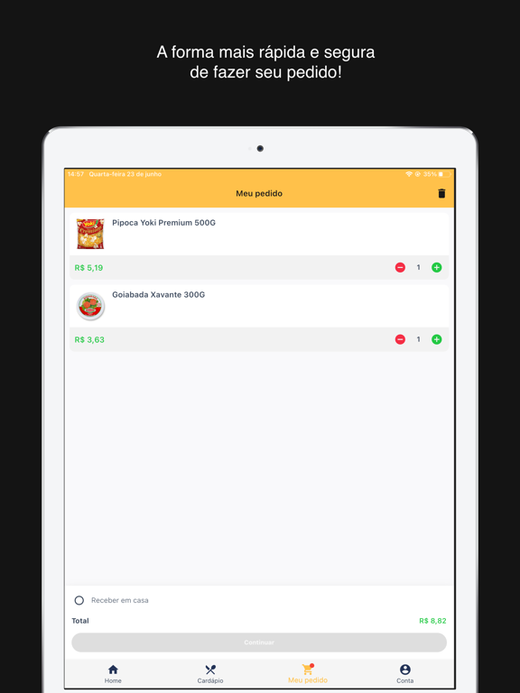 Seu Mercado Delivery screenshot 9