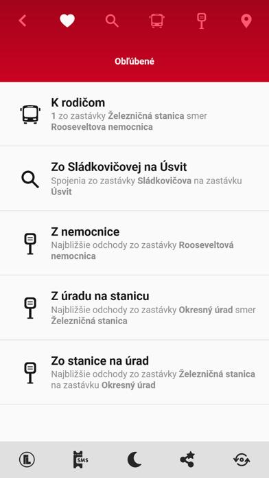 MHD Banská Bystrica screenshot 1