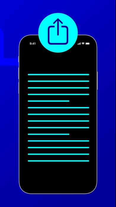 Diktat - Sprache zu TextScreenshot von 3