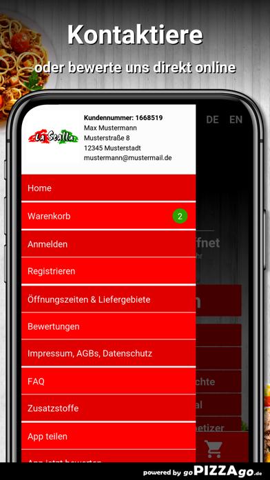 Pizza La Scalla Regensburg screenshot 3