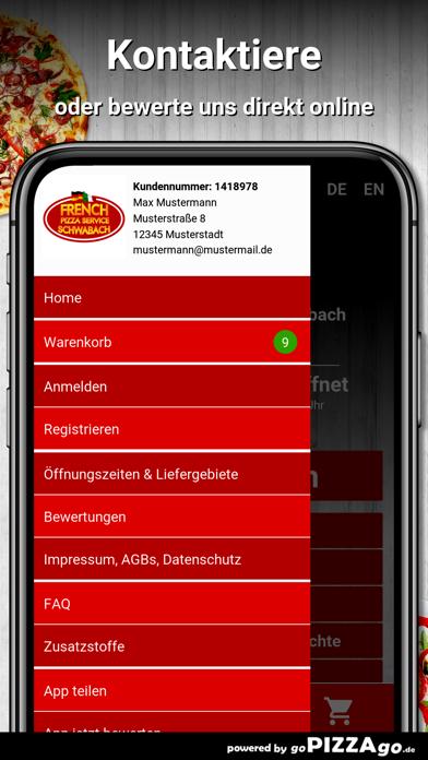 French Pizza Service Schwabach screenshot 3